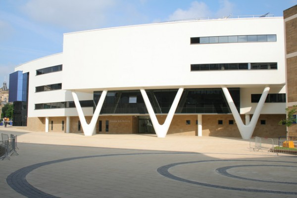 University of Huddersfield concourse